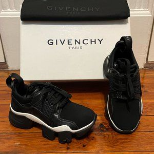 New GIVENCHY Jaw Neoprene & Leather Sneakers